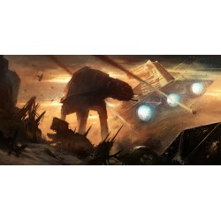 Plakat Panorama Star Wars