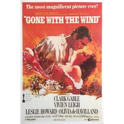 "Plakat ""Gone With The Wind"""