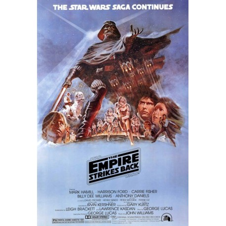 Plakat Star Wars - The Empire Strike Back