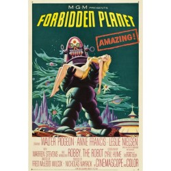 Plakat FORBIDDEN PLANET Amazing !