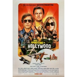 Plakat Once Upon a Time in ... HOLLYWOOD