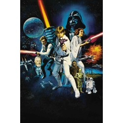 Plakat Star Wars 1977