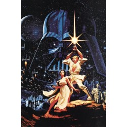 Plakat Star Wars - Grafika