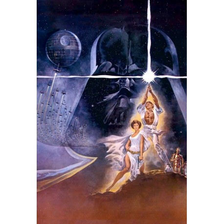Plakat Star Wars - Grafiak II