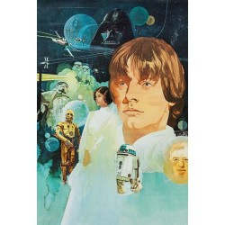 Plakat Star Wars Luke Skywalker