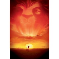 Plakat Lion King 01