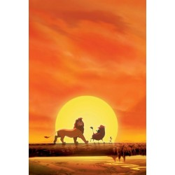 Plakat Lion King 02