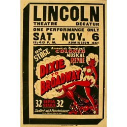 Plakat DIXIE to BRODWAY