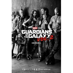 Guardians Of The Galaxy BLACK&WHITE
