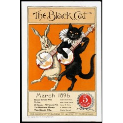 Plakat The Black Cat Vintage