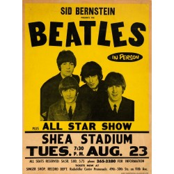 Plakat Sid Bernstein presents the BEATLES