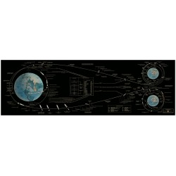 Apollo Mission Flight Plan - 1967 : Redesigned 183x61 cm